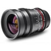 Walimex Pro 35mm 1:1,5 VDSLR Foto- und Videoobjektiv (Filtergewinde 77mm) für Canon EF Objektivbajonett schwarz