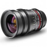 Walimex Pro VDSLR 35mm 1:1,5 Foto- und Videoobjektiv (Filtergewinde 77mm) für Nikon F Objektivbajonett schwarz
