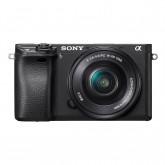 Sony Alpha 6300 E-Mount Systemkamera (24 Megapixel, 7,5 cm (3 Zoll) Display, XGA OLED Sucher) L-Kit (16-50mm Objektiv) schwarz