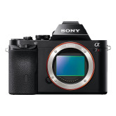 Sony Alpha 7R nur Gehäuse (36,4 Megapixel, 7,6 cm (3 Zoll) schwenkbares Display, BIONZ X, 2,3 Megapixel OLED Sucher, 35mm Vollformat Exmor CMOS Sensor, NFC) schwarz