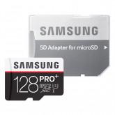 Samsung PRO Plus Micro SDXC 128GB bis zu 95MB/s lesen, bis zu 90MB/s schreiben, Class 10 Speicherkarte (inkl. SD Adapter)