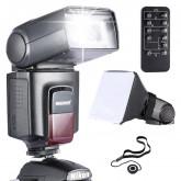 Neewer® TT560 Speedlite Blitzgerät *Luxus Ausstattung* für Canon Nikon Sony Panasonic Olympus Fujifilm Pentax Sigma Minolta Leica und andere SLR Digital SLR Film SLR Kameras und Digital Kameras mit Single-Kontakt Hot Shoe - beinhaltet: (1)Neewer TT560 Spe