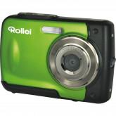 Rollei Sportsline 60 Digitalkamera (5 Megapixel, 8-fach digitaler Zoom, 6 cm (2,4 Zoll) Display, bildstabilisiert, bis 3m wasserdicht) grün