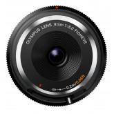 Olympus Body Cap Objektiv 9mm 1:8.0 fisheye schwarz