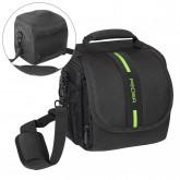 Pedea Essex SLR-Kameratasche mit Regenschutz/Tragegurt und Zubehörfächer, Gr. M