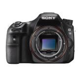 Sony SLT-A58K SLR-Digitalkamera (20,1 Megapixel, 6,7 cm (2,7 Zoll) LCD-Display, APS HD CMOS-Sensor, HDMI, USB 2.0)  inkl. SAL 18-55mm Objektiv schwarz