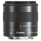 Canon EF-M 18-55mm 1:3,5-5,6 IS STM Standardzoom-Objektiv (52mm Filtergewinde) schwarz