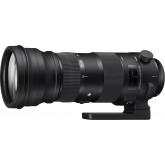 Sigma 150-600/5,0-6,3 DG OS HSM Sports Objektiv (Filtergewinde 105mm) für Canon Objektivbajonett schwarz