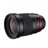Walimex Pro 35mm 1:1,4 DSLR-Objektiv (Filtergewinde 77mm, Gegenlichtblende, IF, AS-Linsen) für Canon EF Objektivbajonett schwarz
