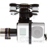 DJI DJIP2H3G Phantom 2 UAV Aerial Quadrocopter Drohne Zenmuse H3-3D Gimbal Actionkamera Halterung für GoPro Hero2/3/3+ schwarz