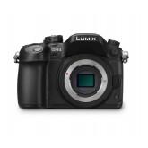Panasonic LUMIX G DMC-GH4EG-K Systemkamera Gehäuse (16 Megapixel, OLED Touchscreen, 4K Video, Staub-/Spritzwasserschutz, Utraschneller Autofokus) schwarz