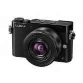 Panasonic LUMIX G DMC-GM5KEG-K Systemkamera (16 Megapixel, 3 Zoll Touch-Display, elektr. Sucher, High-Speed Autofokus) mit Objektiv H-FS12032E schwarz