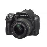Pentax K-30 SLR-Digitalkamera (16 Megapixel, 7,6 cm (3 Zoll) Display, Full HD) Kit inkl. 18-55mm WR Objektiv schwarz