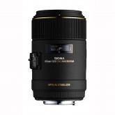 Sigma 105 mm F2,8 EX Makro DG OS HSM-Objektiv (62 mm Filtergewinde) für Canon Objektivbajonett