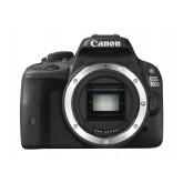 Canon EOS 100D SLR-Digitalkamera (18 Megapixel, 7,6 cm (3 Zoll) Touchscreen, Full HD, Live-View) nur Gehäuse