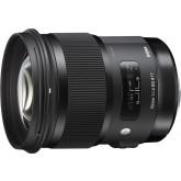 Sigma 50mm F1,4 DG HSM Objektiv (Filtergewinde 77mm) für Nikon Objektivbajonett schwarz
