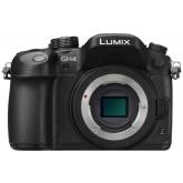 Panasonic LUMIX G DMC-GH4RE-K Systemkamera (16 Megapixel, Staub-/Spritzwasserschutz, V-Log L-Aufzeichnung, Aufnahmen auf 30 Min., Ultra-Higspeed Autofokus) schwarz