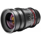 Walimex Pro 35mm 1:1,5 VCSC Foto- und Videoobjektiv (Filtergewinde 77mm) fürmicro Four Thirds Objektivbajonett schwarz