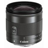 Canon EF-M 11-22mm f/4-5.6 IS STM (55mm Filtergewinde, Superweitwinkel-Zoomobjektiv) schwarz