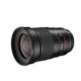 Walimex Pro 35/1,4 AE-Objektiv (inkl. Gegenlichtblende, Filtergewinde 77mm, IF, AS-Linsen) für Canon EF Objektivbajonett schwarz