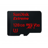 SanDisk Extreme 128GB Class 10 microSDXC Memory Card plus SD Adapter bis zu 90 MB/s