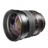 Walimex Pro 85mm 1:1,4 CSC-Objektiv (Filtergewinde 72mm, IF, AS und ED-Linsen) für Samsung NX Objektivbajonett schwarz