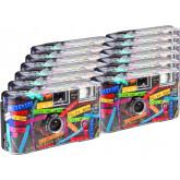 TopShot I mog di schwarz Einwegkamera / Hochzeitskamera (27 Fotos, Blitz, 12-er Pack)
