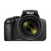 Nikon Coolpix P900 Digitalkamera (16 Megapixel, 83-fach optischer Megazoom, 7,5 cm (3 Zoll) RGBW-Display mit 921.000 Pixel, Full-HD-Video, Wi-Fi, GPS, NFC, bildstabilisiert) schwarz