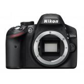 Nikon D3200 SLR-Digitalkamera (24 Megapixel, 7,4 cm (2,9 Zoll) Display, Live View, Full-HD) nur Gehäuse schwarz
