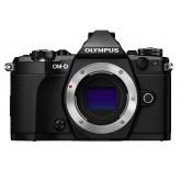 Olympus OM-D E-M5 Mark II Systemkamera (16 Megapixel, 7,6 cm (3 Zoll) TFT LCD-Display, Full HD, HDR, 5-Achsen Bildstabilisator) nur Gehäuse schwarz