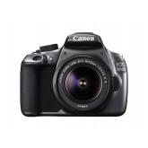 Canon EOS 1200D Spiegelrefexkamera mit EF-S 18-55 IS II Objektiv grau