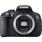 Canon EOS 700D SLR-Digitalkamera (18 Megapixel, 7,6 cm (3 Zoll) Touchscreen, Full HD, Live-View) nur Gehäuse