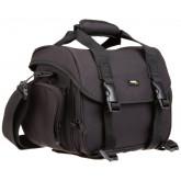 AmazonBasics Kameratasche für DSLR-Kamera und Zubehör (graues Interieur) Large