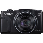 Canon PowerShot SX710 HS Digitalkamera (20,3 Megapixel CMOS, HS-System, 30-fach optisch, Zoom, 60-fach ZoomPlus, opt. Bildstabilisator, 7,5 cm (3 Zoll) Display, Full HD Movie 60p, WLAN, NFC) schwarz