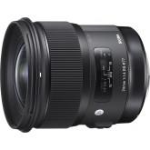 Sigma 24 mm F1,4 DG HSM Objektiv (77 mm Filtergewinde) für Nikon Objektivbajonett