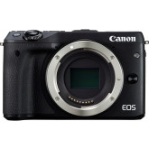 Canon EOS M3 Systemkamera (24 Megapixel APS-C CMOS-Sensor, WiFi, NFC, Full-HD) nur Gehäuse