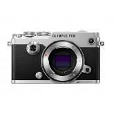 Olympus PEN-F Systemkamera (20,3 Megapixel, 5-Achsen VCM Bildstabilisator, elektronischer Sucher mit 2,36 Mio. OLED, 7,6 cm (3 Zoll) TFT LCD-Display, Full-HD, WLAN, Metallgehäuse), silber