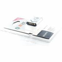 Sony Akku für Sony DSC-WX300 Li-Ion 3,6 Volt 1240 mAh-21