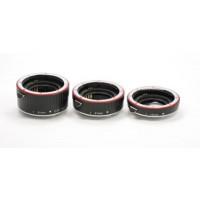 Minadax Automatik Zwischenringe 13/21/31mm für Makrofotographie passend für Canon 1200D, 1100D, 1000D, 700D, 650D, 600D, 550D, 500D, 450D, 400D, 350D, 300D, 100D, 70D, 60D, 50D, 40D, 30D, 20D, 10D, 7D, 6D, 5D Serie, 1D Serie (Metall Bajonett)-22