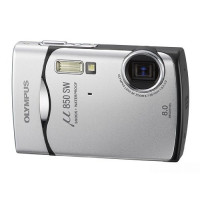 Olympus Mju-850SW Digitalkamera (8 Megapixel, 3-fach opt. Zoom, 6,4 cm (2,5 Zoll) Display) Starry Silver-22