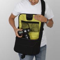 Crumpler Cupcake 7500 Kameratasche mit verstellbaren Inneneinteilungen dull black-22