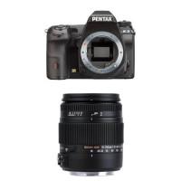 Pentax K-3 SLR-Digitalkamera Gehäuse schwarz + Sigma 18-250 mm Objektiv-21