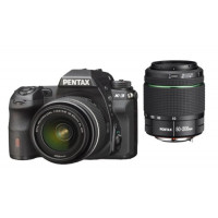 Pentax K-3 SLR-Digitalkamera (24 Megapixel, 8,1 cm (3,2 Zoll) LCD-Display, Live View, Full HD) inkl. DAL18-55/DA50-200WR kit schwarz-22