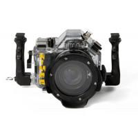 Unterwasser digitalkamera Nimar Unterwassergehäuse für Spiegelreflexkamera Canon 550D + kit EF-S 18/55 mm f/3.5-5.6 IS-22
