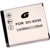 Bilora GPI 675 Li-Ion Akku für DC-8330 f.Voigtländer, Rollei, Minox, etc-21