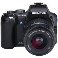 Olympus E-500 SLR-Digitalkamera (8 Megapixel) inkl. Zuiko Digital 14-45 mm-21