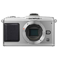 Olympus PEN E-P2 Systemkamera (12,3 Megapixel, 7,6 cm Display, Bildstabilisator) Gehäuse silber-22