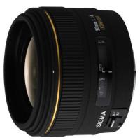 Sigma 30 mm F1,4 EX DC HSM-Objektiv (62 mm Filtergewinde) für Canon Objektivbajonett-21