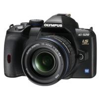 Olympus E-520 SLR-Digitalkamera (10 Megapixel, LifeView, Bildstabilisator) Kit inkl. 14-42mm and 70-300mm Objektive-22