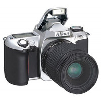 Nikon F65 Spiegelreflexkamera silber-21